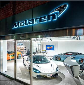 McLaren AZABU 店舗画像