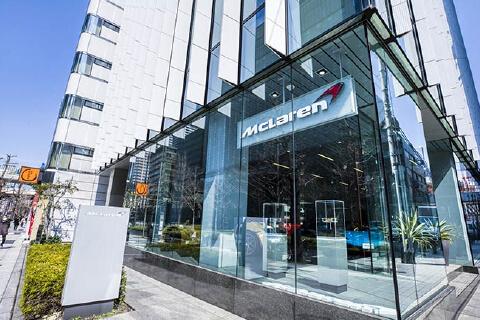 McLaren OSAKA 店舗画像